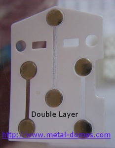 white double layer dome array