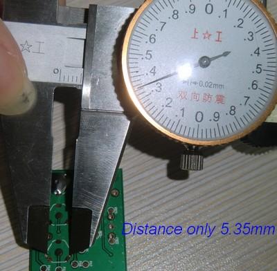 PCB Hole Distance
