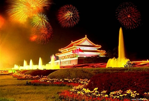 Firework in Tian