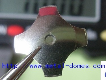 Normal four leg metal dome